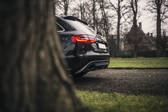 Audi RS4 (ZjeromePhotography) Tags: audi rs4 powercar carphotography zjeromephotography life love freedom freeyourmind nikon d600 bokeh blur detail green nature castle autumn winter worldcars