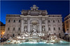 Trevi Fountain . (:: Blende 22 ::) Tags: nightshot bluehour rome trevifountain light evening water fountain bluesky canoneos5dmarkiv ef1740mmf4lusm italy italien