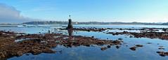 """La Bougie"" (YellowSingle 单黄) Tags: socoa bougie sea beacon lighthouse beach front atlantic ocean leica pays basque seascape surf spot"