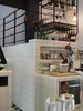 DTILE at Café Charbon (DTILE) Tags: dtile tiles rounded roundedtiles bar bardesign restaurant restaurantdesign white ceramics stoneware