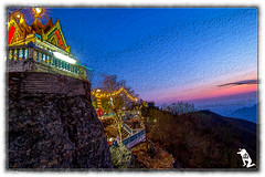 Thailand (reinhard111) Tags: wat tempel tempelanlage berg thailand