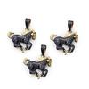 abhaas_post-5 (jewelsabhaas) Tags: 14kgold luckycharm pendant horsependant pavediamond emeraldgemstone abhaasjewelry
