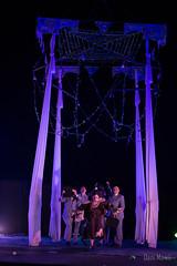Voalá Station en Viseu. 31 Dic'16 (Danimawii) Tags: actores actors cantante voala aerialist aerialistas performance stage palco escenacio nochevieja