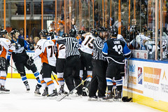 "Missouri Mavericks vs. Wichita Thunder, January 6, 2017, Silverstein Eye Centers Arena, Independence, Missouri.  Photo: John Howe / Howe Creative Photography • <a style=""font-size:0.8em;"" href=""http://www.flickr.com/photos/134016632@N02/32080938742/"" target=""_blank"">View on Flickr</a>"