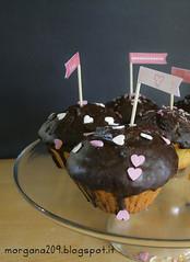 MuffinSanValentino_006w (Morgana209) Tags: love sanvalentino amore muffin cioccolato nutella yogurt facili veloci innamorati cuore tag flag handmade cucinareconamore heart 14febbraio fattoamano donospeciale