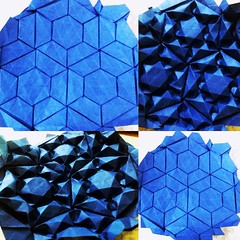 tessellation by joel cooper folded by me. thanks to  Robin Scholz  for the tutorial.