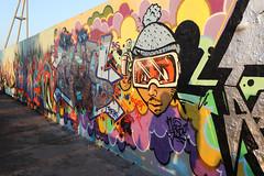 Grafitti im Mauerpark (socialwebforscher) Tags: art berlin canon1635mmf28liii canoneos5dmarkiv grafitti grosstadt kunst mauerpark menschen prenzlauerberg sehenswürdigkeit sonnenuntergang strasenleben verkehr deutschland