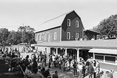 Yates Cider Mill (Detroit Imagery) Tags: trix400 nikonfe2 35mmfilm