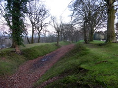 Antonine Wall at Watling Lodge, Tamfourhill (luckypenguin) Tags: scotland falkirk tamfourhill romanempire historicscotland romans wall antoninewall ditch watlinglodge