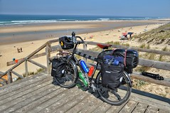 Coastal cycling in Brittany