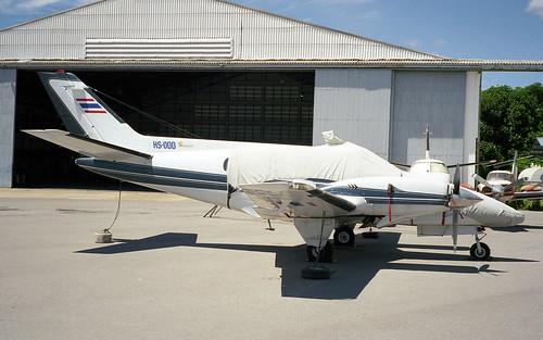 HS-ODD Beech Duke B-60 Hua Hin Aug98