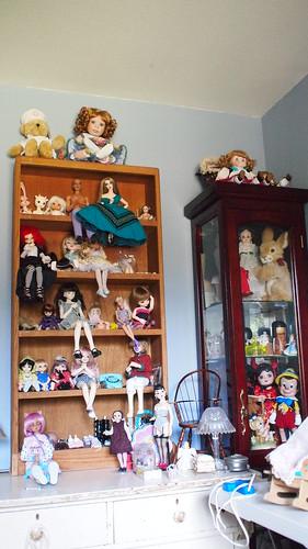 Crazy Doll Lady :)