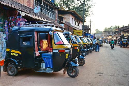 India - Karnataka - Gokarna - Auto Rickshaw - 1