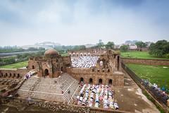Eid Mubarak (Ashmalikphotography) Tags: sky india colors delhi eid festivals monuments eidmubarak incredibleindia ferozshahkotla eid2015 happyyeid
