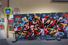 Mana / Imst (Crazy Mister Sketch) Tags: street streetart art wall painting graffiti austria tirol sketch sterreich crazy artwork freestyle village letters style tags spot mister spraypaint walls outline piece muck wildstyle spraycans imst stylewriting
