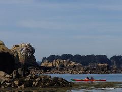Kayaks dans l'Archipel de Bréhat