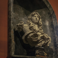 'Louis the Great' (Ludovicus Magnus) (Greatest Paka Photography) Tags: travel portrait sculpture france history statue condemned king famous bust marble bourgeois residence chateau mistress royalty throne wealth nobleman louisxiv adversary vauxlevicomte kingoffrance gianlorenzobernini nicolasfouquet ministeroffinance jeanbaptistecolbert louisthegreat ludovicusmagnus marquisedelavalliere
