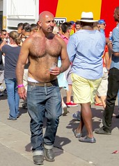 IMG_9039 (danimaniacs) Tags: shirtless man hot sexy guy beard losangeles gaypride westhollywood stud hunky scruff csw