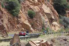 Headed for Jerome (twm1340) Tags: arizona ford az victory crosscountry vision jerome mustang gt roush 89a