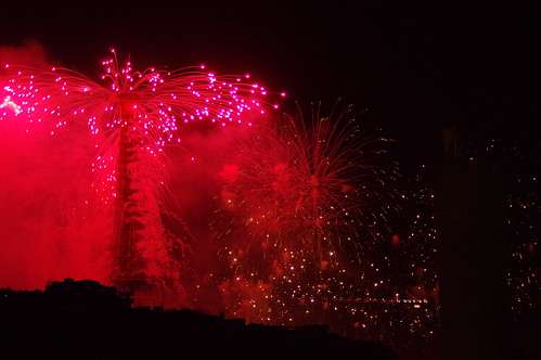 Feux d'artifice - Paris 14 juillet 2015