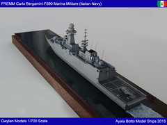 FREMM Carlo Bergamini F590 Frigate - Italian Navy - Gwylan Models 1/700 by Ayala Botto Model Ships (AyalaBotto Model Ships) Tags: italy scale war marinamilitare guerra bateaux class type kits combat frigate naval guerre navi modell italie gp warship classe itlia klasse batiment echelle 1700 gwylan fragata navire carabiniere alpino modelismo maquetas maquettes fregate asw modlismenaval navales italiannavy navires modeles fregatten fremm fregatte f590 modelismonaval f593 modelwarships f595 f591 f594 luigirizzo scalemodelships virginiofasan ayalabotto f592 carlobergamini carlomargottini marineitaliene italienischenmarine marinedeguerreitalienne marinhadeguerraitaliana gwylanmodels