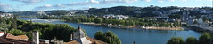 O Mondego e As Pontes (rgrant_97) Tags: panorama portugal rio river bridges olympus puentes pontes coimbra mondego ponti stylus1