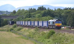 Photo of 66432 4D47 13:19 Inverness Freight Sidings - Mossend Up Yard; Bannockburn; 21-07-2015