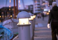 Streets of Helsingborg (Maria Eklind) Tags: norrahamnen water city boats byggnader kvickbron blue dock hamn marina öresund architecture sky helsingborg bluhour himmel parapeten sweden skånelän sverige se