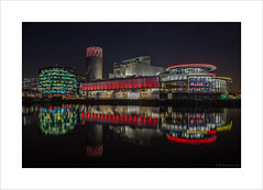 The Lowry Theatre (andyrousephotography) Tags: lowry theatre salfordquays mediacityuk lightwaves 2016 illuminations thealchemist thebund cocktails bar restaurant detroit bridge dock9 night longexposure le andyrouse canon eos 5d mkiii