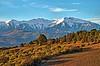 Le Canigou. Explore (sergecos) Tags: paysage landscape montagne mountain canigou massifducanigou pyrénées pyrénéesorientales nikon d7000 nature hdr neige snows hiver winter vigne vine