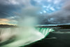 Sunrise at the Falls (Brian Krouskie) Tags: niagara horseshoe falls waterfall sunrise longexposure landscape outdoor morning sky clouds water mist building nikond800 nikon1735f28