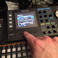 Day 342 (GearBoxTy) Tags: 365days appleiphone6 righthand pointing tascamdp24 recording mixing