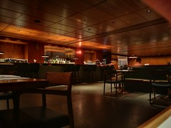 Inside the restaurant (A. Wee) Tags: cathaypacific 国泰航空 机场 airport hkg hongkong 香港 china 中国 thepier lounge restaurant 餐厅