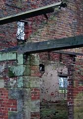 Walls And Windows (NJKent) Tags: deerhouse building windows walls ruin derelict nationaltrust calkeabbey derbyshire uk