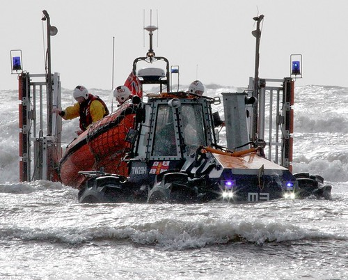 Porthcawl Lifeboat Net Recovery