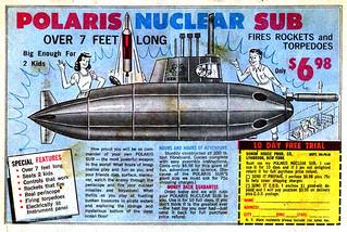 1967 Polaris Nuclear Sub