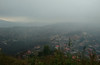 View from the top of Freetown (marukomu) Tags: sierraleone freetown view mist hill victoriapeak