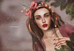 Happy holidays everyone ♥♥ (Nayra Collas) Tags: astralia secondlife nomatch nayracollas snow holidays games face christmas