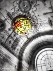 The Art in Architecture: Worldly (joannemariol) Tags: iphoneography iphone6 snapseed icolorama phonto cleveland downtowncleveland cle globe map terrestrialglobe architecture theartinarchitecture