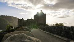 Sco-89 (tom-ak) Tags: scotland royaumeuni gb eilean donan castle uk