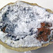 Geode with aragonite (Bloomington, Indiana, USA) 2