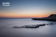 Tranquillity (Andreas Iacovides) Tags: canon eos 5d mark iii limassol long exposure sunset rock tranquillity seascape