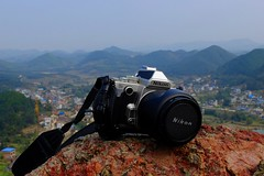 Gulucun - Nikon Df on the rocks (cnmark) Tags: china guangxi province gulucun village nikon df afd 2485 mm 284 nikkor lens camera dslr 东古路 古路村 中国 广西 ©allrightsreserved