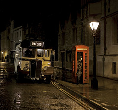 'St Giles, Oxford' (andrew_@oxford) Tags: st giles oxford bus nighttime telephone box rain timeline events