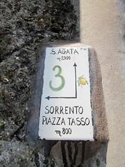 Sorrento Metre Marker Walk 3 Italy (Bridgemarker Tim) Tags: walks hills sorrento markers santagata metres