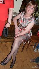Sparkle 120713 (janegeetgirl2) Tags: street out manchester outside canal tv high dress clubbing crossdressing tgirl sparkle transgender short transvestite heels crossdresser ts transsexual