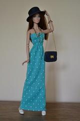 It' wrapp Poppy Parker (pe.kalina) Tags: its doll dolls dress handmade poppy parker wrapp