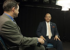 ITU Patron for Youth and ICTs Interview in ITU TV Studio (ITU Pictures) Tags: youth for president ceremony itu patron icts luisguillermosols