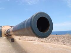 "15-Inch Breach Loading Gun (Okehills) Tags: spanish british armstrong menorca lamola 15inch armstrong"" gun"" ""vickers ""bl ""15inch"""