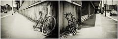 Via Giuseppe Ferrari 4 (-dow-) Tags: fuji milano bikes trainstation transportation wreck stazione portagaribaldi biciclette rottame carcassa xe1 vialedonluigisturzo deathofabike viagiuseppeferrari xf3514 mortediunabicicletta